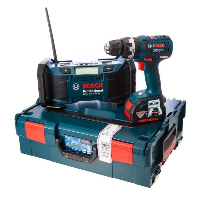 Bosch perceuse visseuse percussion brushless avec une - Radio de chantier bosch ...