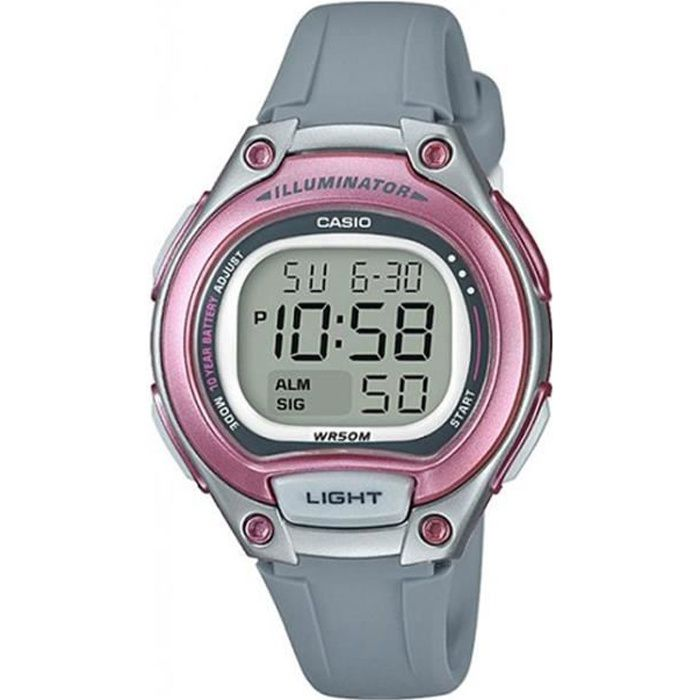 casio montre enfant,Montre pour femme collection Baby G rose  pNQk0