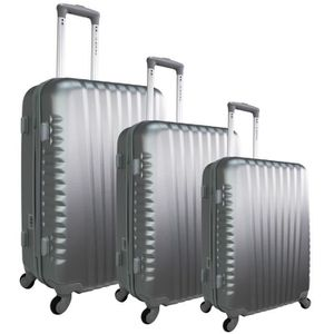 SET DE VALISES ZIFEL Set de 3 Valises Rigide ABS 4 Roues 50-60-70