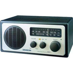 Radio réveil SANGEAN WR1 SILVER