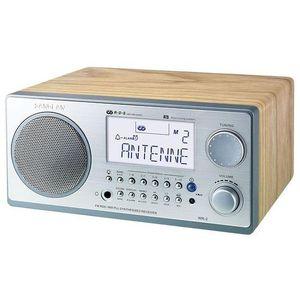 RADIO CD CASSETTE SANGEAN WR2 SILVER