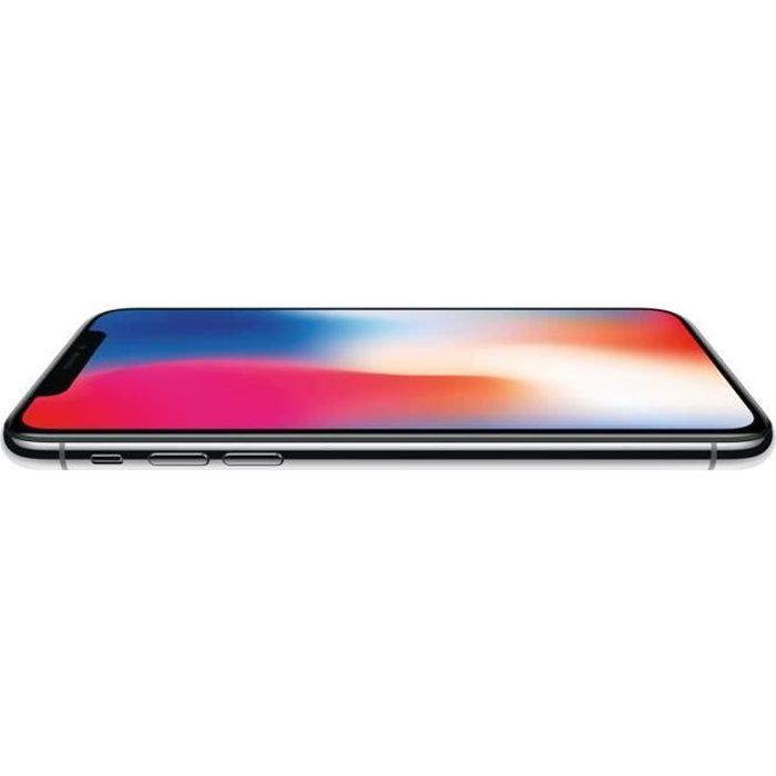 SMARTPHONE APPLE iPhone X Argent 64 Go Reconditionné - Etat C