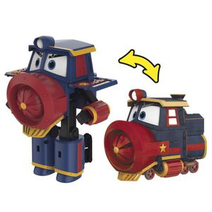 VOITURE - CAMION ROBOT TRAINS - Figurine Transformable Deluxe Victo