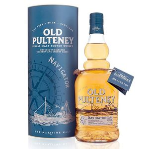 WHISKY BOURBON SCOTCH Old Pulteney Navigator 46° 70cl