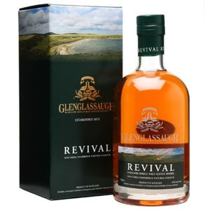 WHISKY BOURBON SCOTCH Glenglassaugh revival 46° 70cl