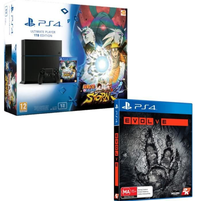 pack ps4 1 to naruto storm 4 evolve jeux ps4 achat vente console ps4 nouveaut ps4 1 to. Black Bedroom Furniture Sets. Home Design Ideas