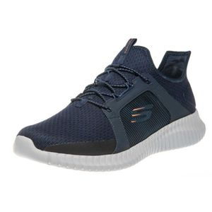 BASKET SKECHERS Baskets Elite Flex - Homme - Bleu marine