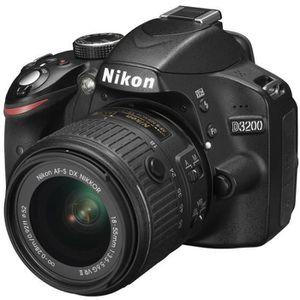 APPAREIL PHOTO RÉFLEX NIKON D3200 KIT + AF-S DX 18-55 VR II noir