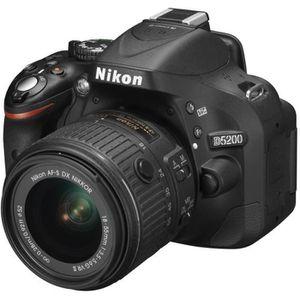 APPAREIL PHOTO RÉFLEX NIKON D5200 KIT+ 18-55mm VR II noir