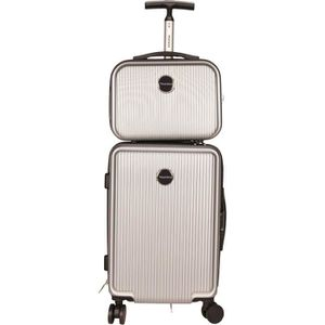 SET DE VALISES MURANO Set Valise 50cm + Vanity 28cm Rigide ABS 8