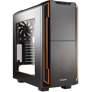 BOITIER PC  Be Quiet! Silent Base 600 Orange Window