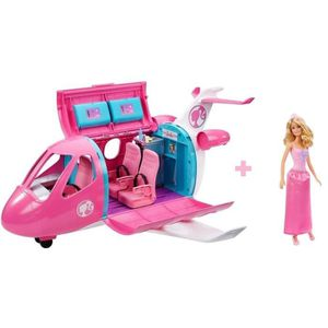 POUPÉE BARBIE Avion de Rêve Barbie + 1 poupée Barbie Prin