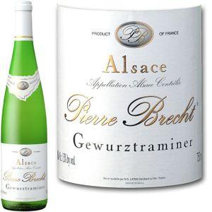 VIN BLANC P. Brecht Gewurztraminer Réserve Alsace 2010