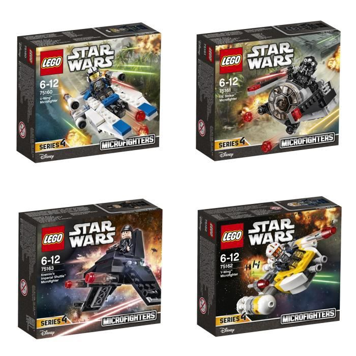 lego star wars bundle microfighters s rie 4 achat vente assemblage construction black. Black Bedroom Furniture Sets. Home Design Ideas