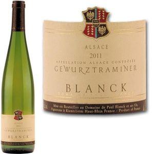 VIN BLANC Domaine Paul Blanck Alsace Gewurztraminer 2012