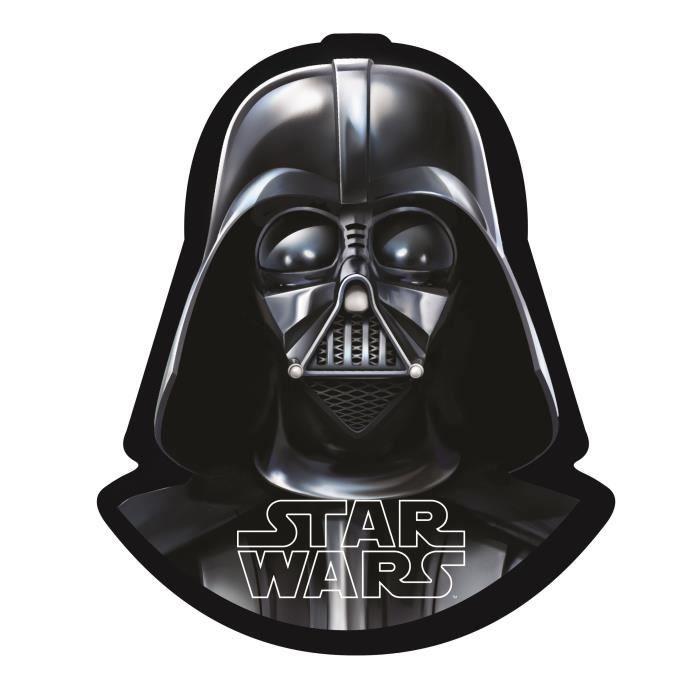 Star Wars Dark Vador Coussin Coussin Coussin Canapé Noir 33 cm
