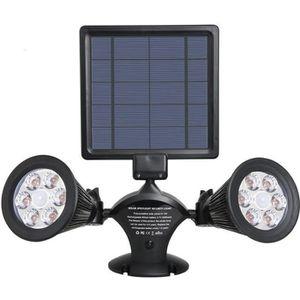 SPOT D'EXTÉRIEUR  LUMISKY Projecteur double spot solaire extérieur é