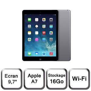 TABLETTE TACTILE Apple iPad Air 16Go Wi-Fi Gris Sidéral