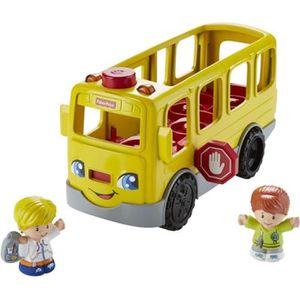 VOITURE - CAMION FISHER-PRICE - Le Bus Scolaire - Little People  fk