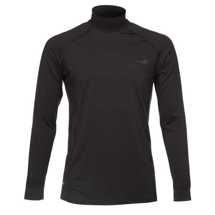 T-SHIRT THERMIQUE WANABEE Sous vêtement Fit Warm SML - Homme - Noir