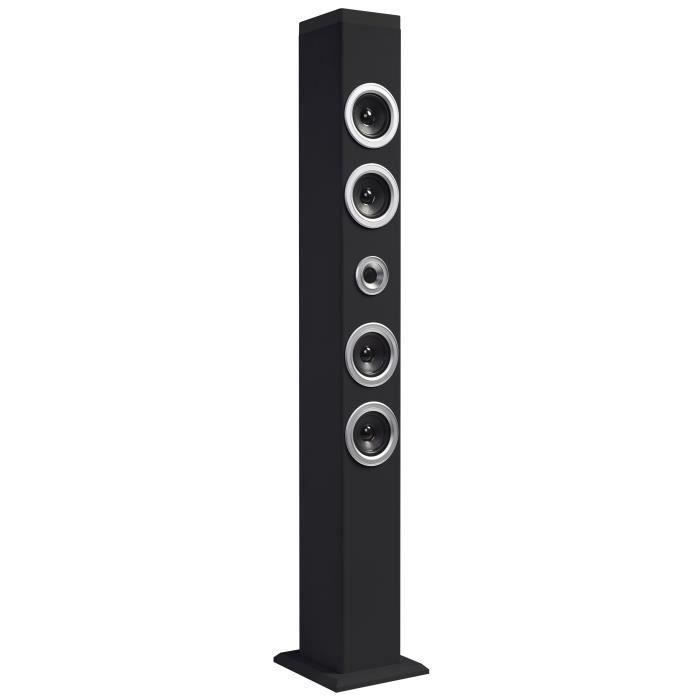 prestige tower 40 tour audio bluetooth 40 w noire enceinte nomade avis et prix pas cher. Black Bedroom Furniture Sets. Home Design Ideas