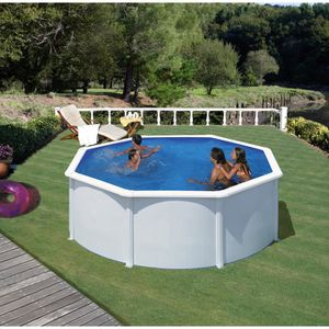 piscine hors sol acier 3m 50 achat vente pas cher. Black Bedroom Furniture Sets. Home Design Ideas