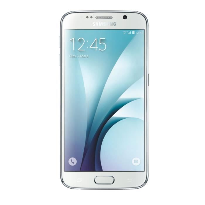 samsung galaxy s6 edge 128 go blanc achat smartphone pas. Black Bedroom Furniture Sets. Home Design Ideas