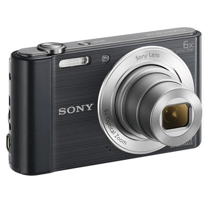 APPAREIL PHOTO COMPACT SONY DSC-W810 Noir - CCD 20 MP Zoom 6x Appareil ph