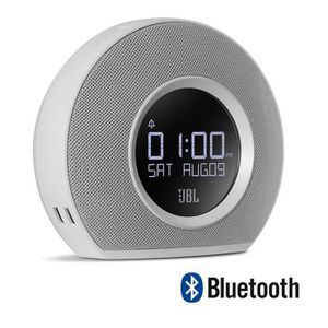 Radio réveil JBL HORIZON Radio-réveil bluetooth blanc