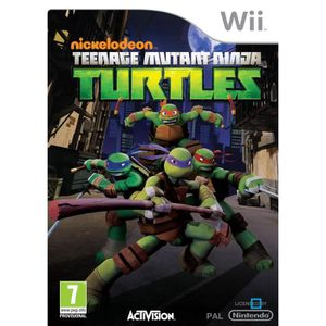 JEUX WII TEENAGE MUTANT NINJA TURTLES KIDS / Jeu Wii