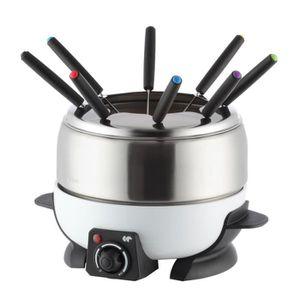 FONDUE ÉLECTRIQUE CONTINENTAL EDISON FD6WIX Appareil à fondue - Blan