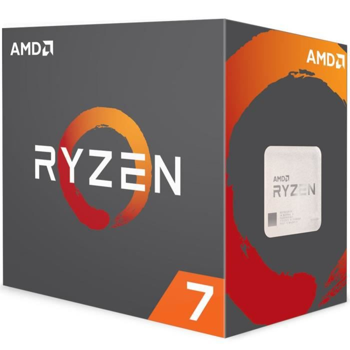 PROCESSEUR AMD Processeur Ryzen™ 7 1700X - 95W - 3,4GHz - Tur