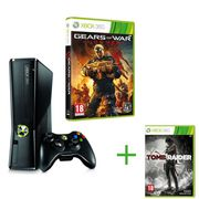 JEUX XBOX 360 XBOX 360 250GO+ GEARS OF WAR JUDGMENT+ TOMB RAIDER