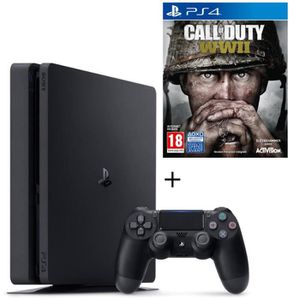 CONSOLE PS4 Pack console nouvelle PS4 500 Go + Call of Duty Wo