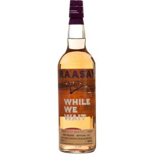 WHISKY BOURBON SCOTCH Whisky RAASAY While We Wait - 70 cl - 46 °