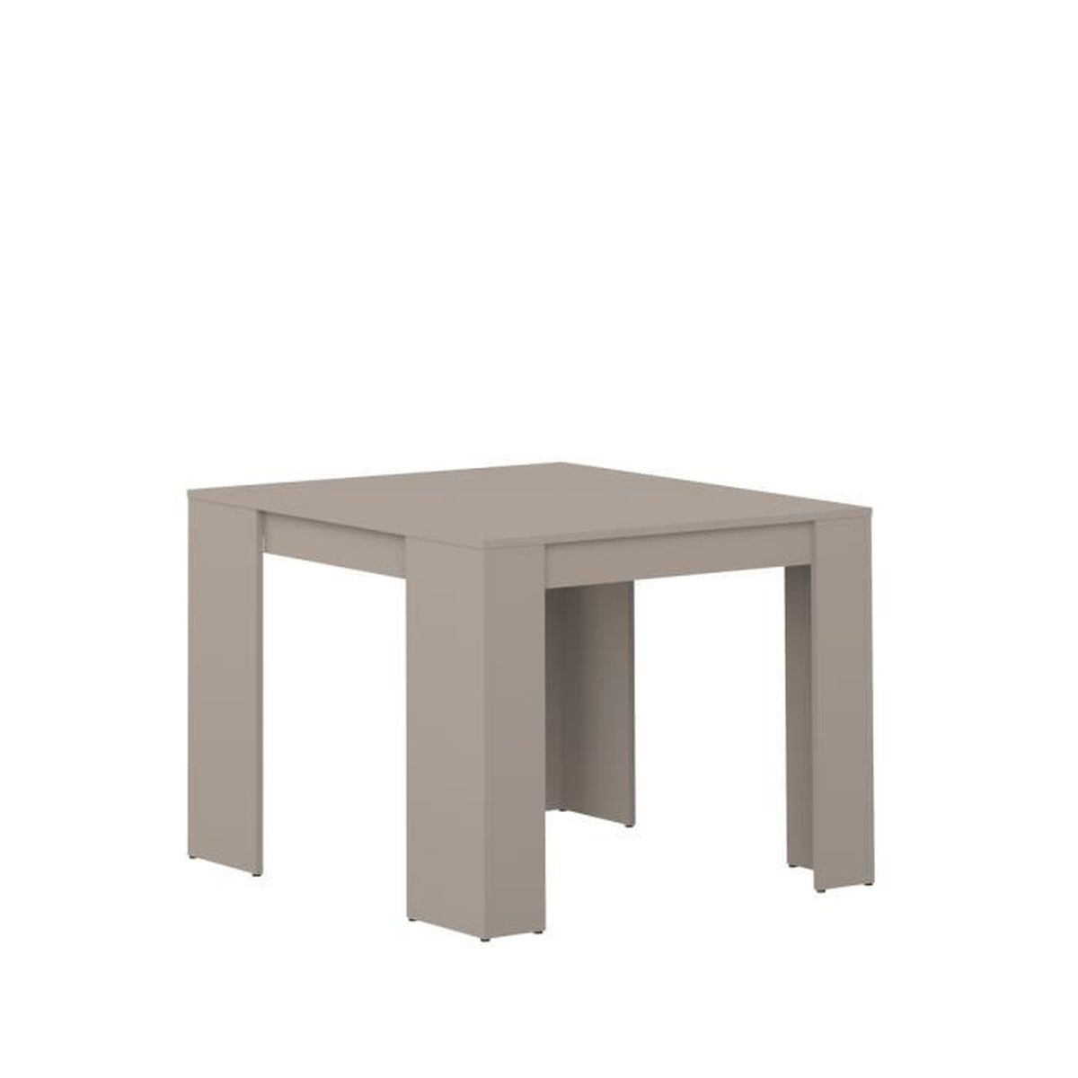 mexx table console extensible 198cm coloris taupe achat vente console extensible mexx table. Black Bedroom Furniture Sets. Home Design Ideas