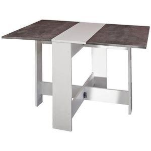 TABLE À MANGER SEULE CURRY Table à manger pliante de 4 à 6 personnes st