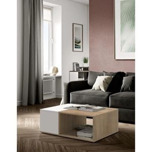Table basse achat vente table basse pas cher cdiscount for Mega muebles