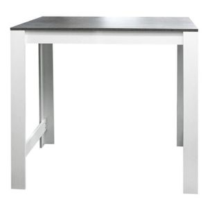 Table bar cuisine achat vente table bar cuisine pas for Table haute 4 personnes