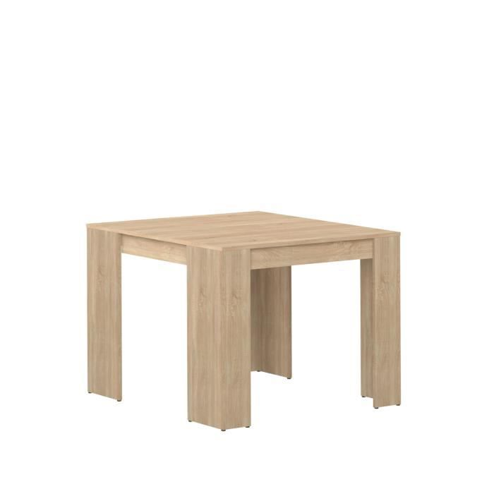Mexx table console extensible 8 personnes 49 198x91 cm for Table 8 personnes ikea