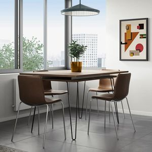 Table extensible 8 personnes achat vente table for Table extensible 2 a 8 personnes
