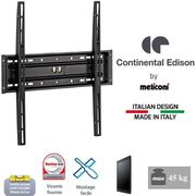"FIXATION - SUPPORT TV CONTINENTAL EDISON Support TV fixe TV 40-65"" VESA"