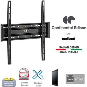 FIXATION - SUPPORT TV CONTINENTAL EDISON Support TV fixe TV 40-65