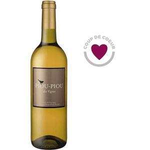 VIN BLANC Piou Piou des Vignes Doux Côtes de Gascogne vin bl