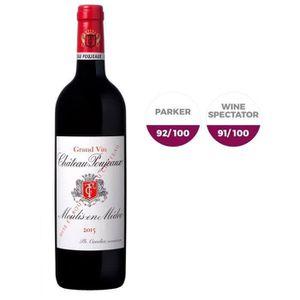 VIN ROUGE Château Poujeaux 2015 Moulis - Vin rouge de Bordea