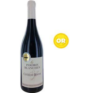 VIN ROUGE Les Perdrix Blanches 2017 Côtes du Rhône - Vin rou