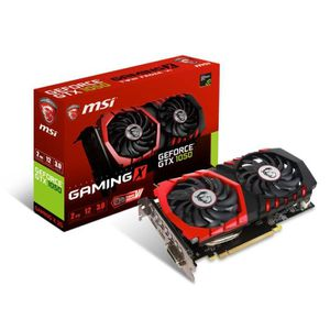 CARTE GRAPHIQUE INTERNE Carte graphique MSI GeForce® GTX 1050 - GAMING X 2
