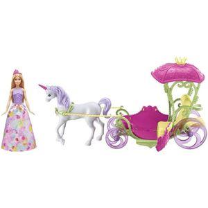 POUPÉE BARBIE - Princesse Barbie Et Sa Calêche