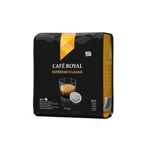 CAFÉ Lot de 216 dosettes Café Royal Espresso Dosettes S