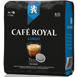 CAFÉ 36 dosettes Café Royal  Lungo compatibles Système
